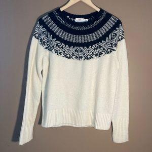 Vineyard vines merino wool mohair blend sweater